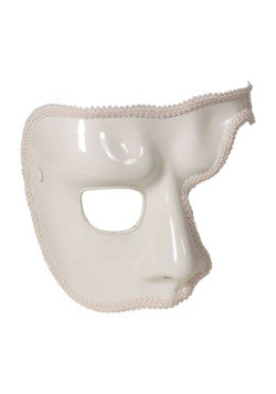 Adult White Phantom Mask