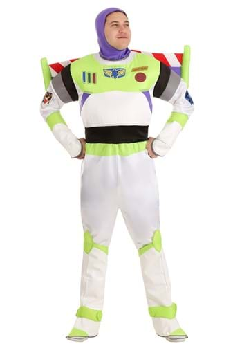 Click Here to buy Adult Deluxe Buzz Lightyear Costume from HalloweenCostumes, CDN Funds & Shipping