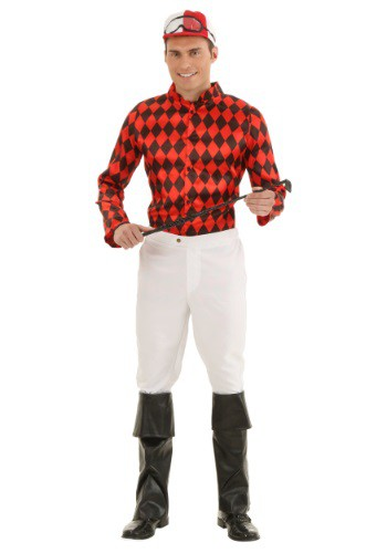 Click Here to buy Adult Horse Jockey Costume from HalloweenCostumes, CDN Funds & Shipping