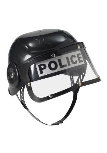 Click Here to buy Kids Police Riot Helmet from HalloweenCostumes, CDN Funds & Shipping