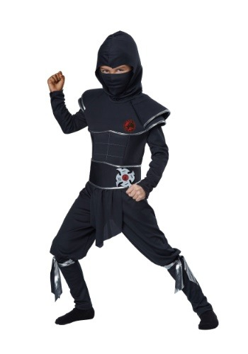 Click Here to buy Boys Ninja Warrior Costume from HalloweenCostumes, CDN Funds & Shipping