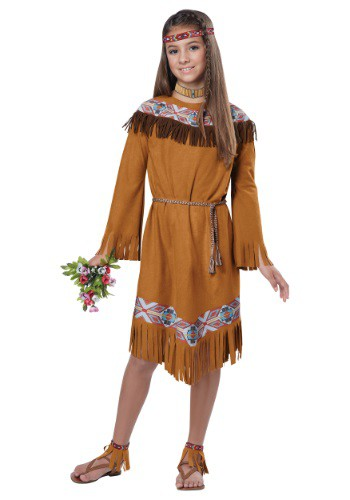 Child Classic Native American Girl Costume
