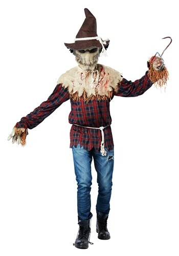 Click Here to buy Sadistic Scarecrow Costume for Adults from HalloweenCostumes, CDN Funds & Shipping