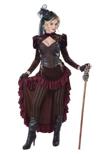 Click Here to buy Womens Victorian Steampunk Costume from HalloweenCostumes, CDN Funds & Shipping