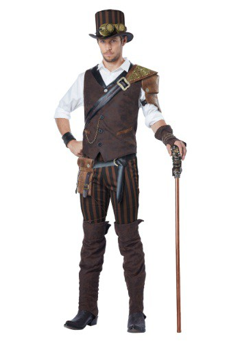 Click Here to buy Adult Steampunk Adventurer Costume from HalloweenCostumes, CDN Funds & Shipping