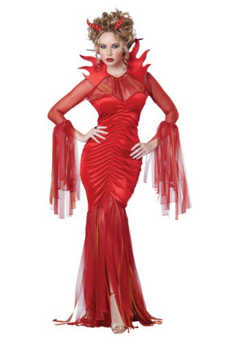 Women's Devilish Diva Costume