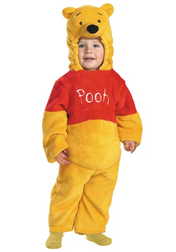 Click Here to buy Toddler Deluxe Winnie the Pooh Costume from HalloweenCostumes, CDN Funds & Shipping
