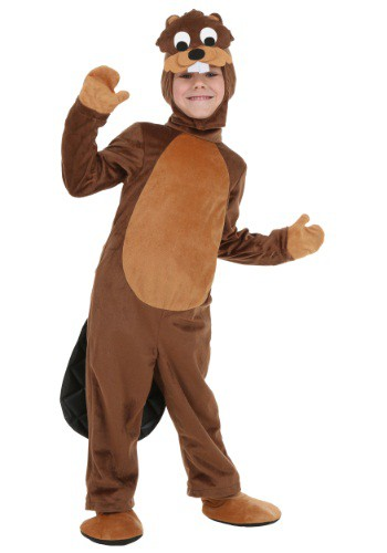Click Here to buy Toddler Beaver Costume from HalloweenCostumes, CDN Funds & Shipping