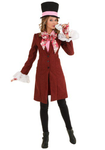 Deluxe Plus Size Womens Mad Hatter Costume