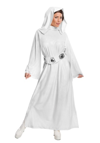 Click Here to buy Deluxe Adult Princess Leia Costume from HalloweenCostumes, CDN Funds & Shipping