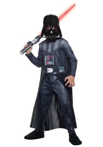 Click Here to buy Kids Darth Vader Costume from HalloweenCostumes, CDN Funds & Shipping