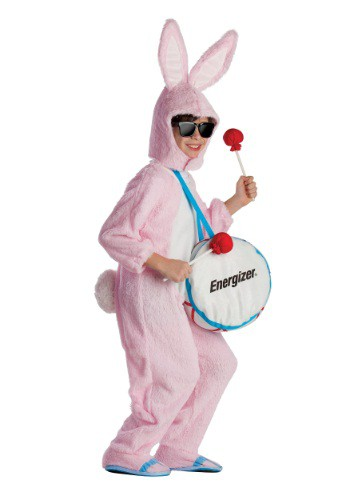 Click Here to buy Kids Energizer Bunny Mascot Costume from HalloweenCostumes, CDN Funds & Shipping