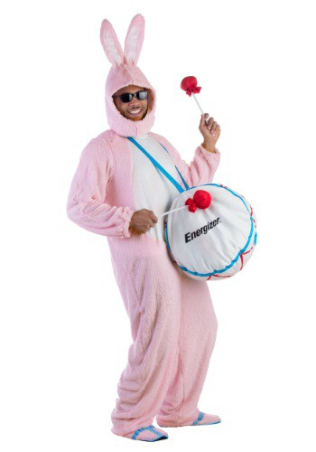 Click Here to buy Adult Energizer Bunny Mascot Costume from HalloweenCostumes, CDN Funds & Shipping
