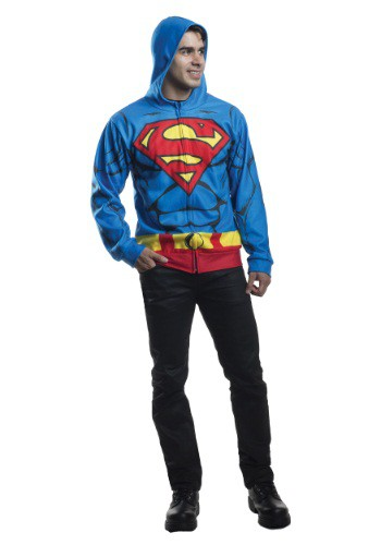 Adult Superman Costume Hoodie