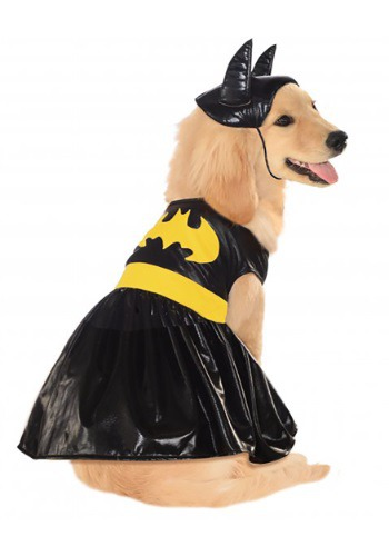 Click Here to buy Batgirl Pet Costume from HalloweenCostumes, CDN Funds & Shipping
