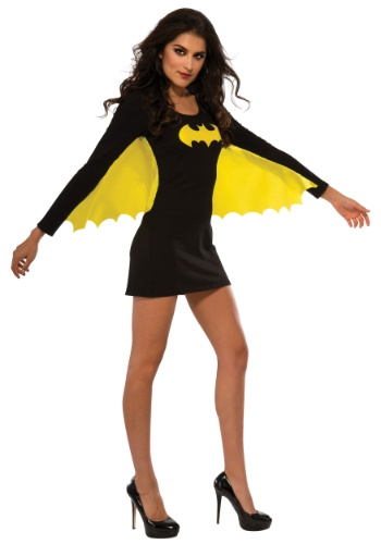 Womens Batgirl Wing Dress Costume