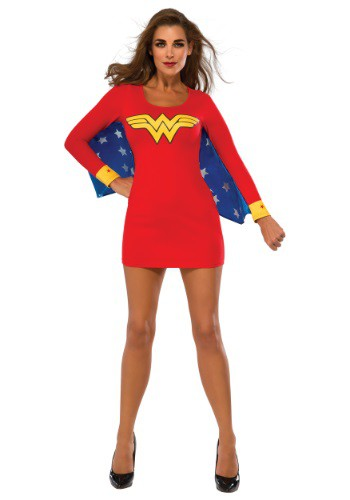 Womens Wonder Woman Wings Dress Costume
