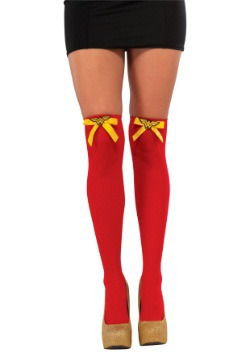 Wonder Woman Thigh Highs
