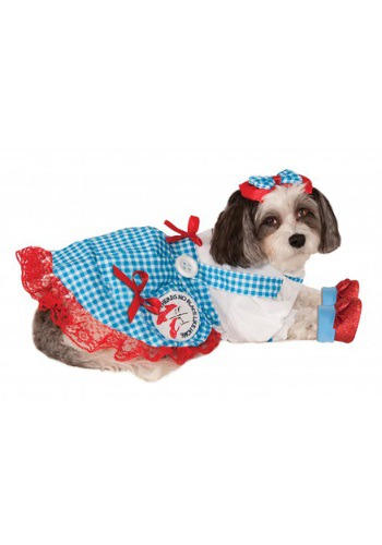 Click Here to buy Dorothy Pet Costume from HalloweenCostumes, CDN Funds & Shipping