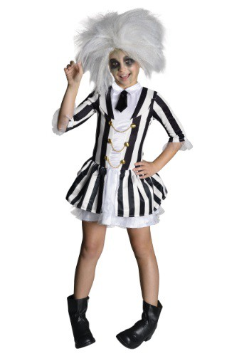Click Here to buy Girls Beetlejuice Costume from HalloweenCostumes, CDN Funds & Shipping