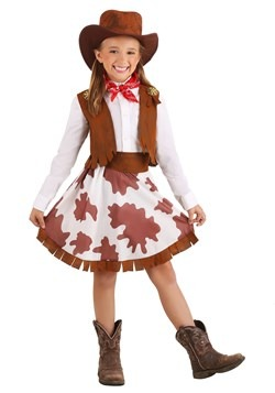 Girls Sweetheart Cowgirl Costume
