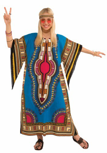 Womens Dashiki Dress Costume