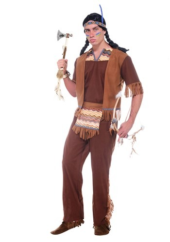 Mens Brave Warrior Costume