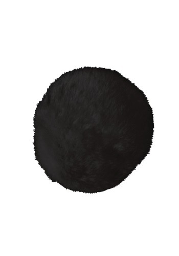 Click Here to buy Deluxe Black Faux Fur Bunny Tail from HalloweenCostumes, CDN Funds & Shipping