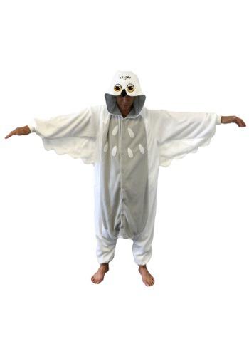 Snowy Owl Pajama Costume