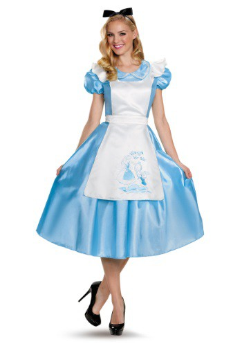 Click Here to buy Classic Alice Deluxe Adult Costume from HalloweenCostumes, CDN Funds & Shipping