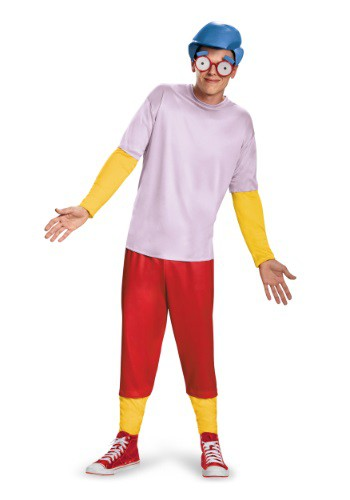 Teen Deluxe Milhouse Costume