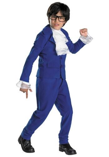 Boys Austin Powers Deluxe Costume