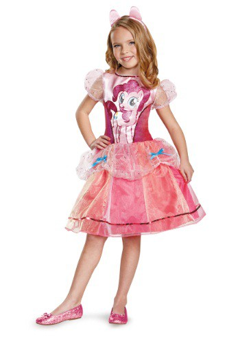 Girls Pinkie Pie Deluxe Costume
