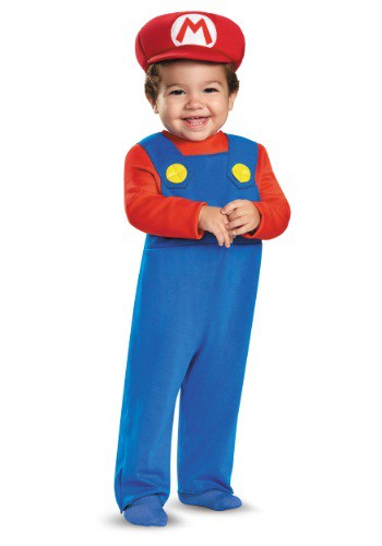 Click Here to buy Mario Baby Costume from HalloweenCostumes, CDN Funds & Shipping