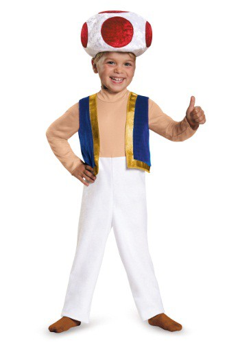 Click Here to buy Toad Toddler Costume from HalloweenCostumes, CDN Funds & Shipping