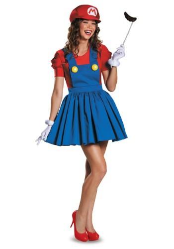 Womens Mario Skirt Costume