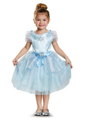 Click Here to buy Cinderella Classic Toddler Costume from HalloweenCostumes, CDN Funds & Shipping