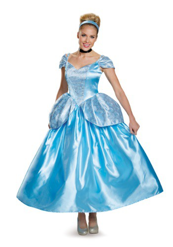Click Here to buy Womens Prestige Cinderella Costume from HalloweenCostumes, CDN Funds & Shipping