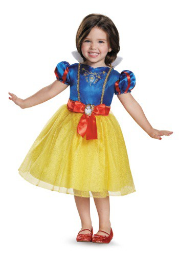 Click Here to buy Snow White Classic Toddler Costume | Disney Princess Costume from HalloweenCostumes, CDN Funds & Shipping