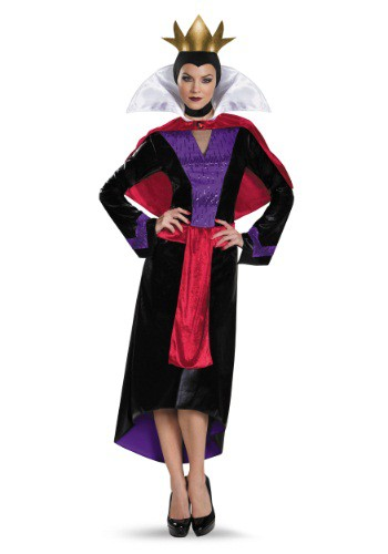 Click Here to buy Womens Deluxe Evil Queen Costume from HalloweenCostumes, CDN Funds & Shipping