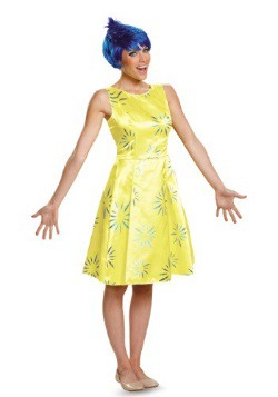 Deluxe Adult Inside Out Joy Costume