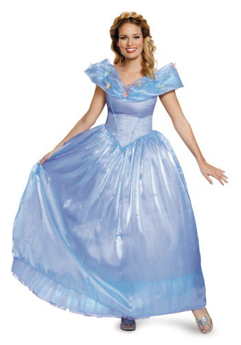 Click Here to buy Womens Cinderella Movie Ultra Prestige Costume from HalloweenCostumes, CDN Funds & Shipping