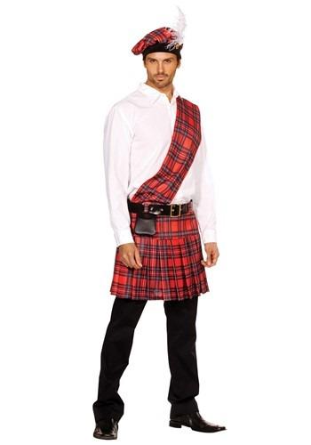 Mens Scottish Kilt Costume