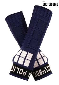 TARDIS Armwarmers