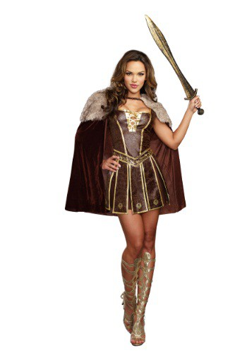 Womens Victorious Beauty Gladiator Costume
