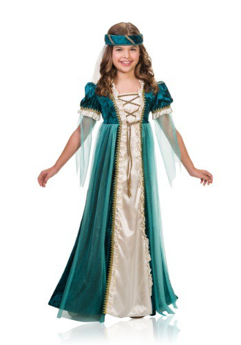 Lady Juliet Girls Costume