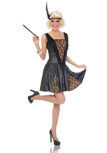 Click Here to buy Womens Peek-a-Boo Flapper from HalloweenCostumes, CDN Funds & Shipping