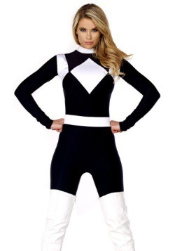 Women's Vigorous Black Ranger Costume
