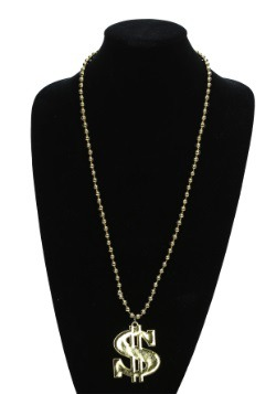 Deluxe Dollar Sign Necklace