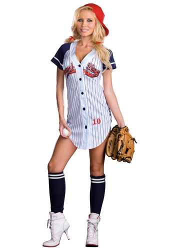 Click Here to buy Sexy Grand Slam Costume from HalloweenCostumes, CDN Funds & Shipping